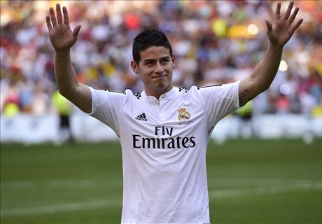 Official: Real Madrid sign James Rodriguez