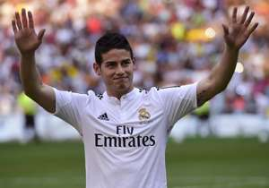 James Rodriguez Real Madrid 07222014