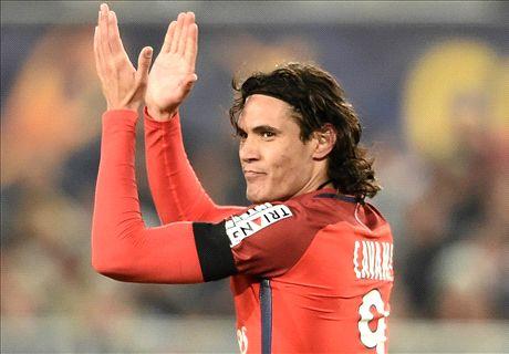 Cavani & Di Maria fire PSG into final