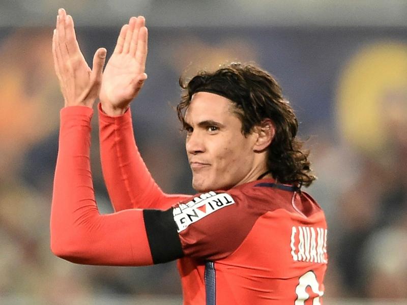 Cavani meilleur buteur de l'histoire du PSG en Coupe de la Ligue