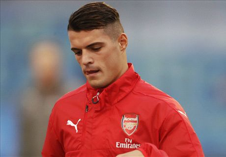 Xhaka denying racial abuse allegation