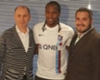 La presentación de Rodallega con su nuevo equipo el Trabzonspor