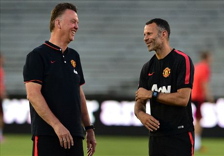 Van Gaal just like Sir Alex - Giggs