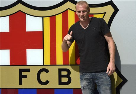 Barca chance a little late - Mathieu