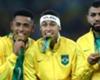 G.Jesus recebe mensagem de Neymar