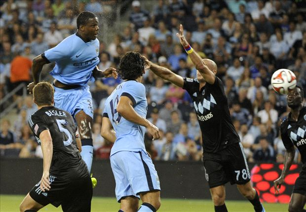 Sporting Kansas City 1-4 Manchester City: Kolarov, Boyata on target in comfortable win