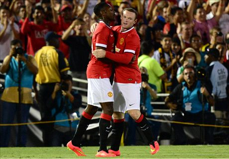 Man Utd hammer seven past LA Galaxy