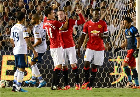 Report: LA Galaxy 0-7 Manchester United