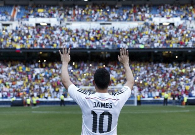 James: I want to win trophies at Real Madrid