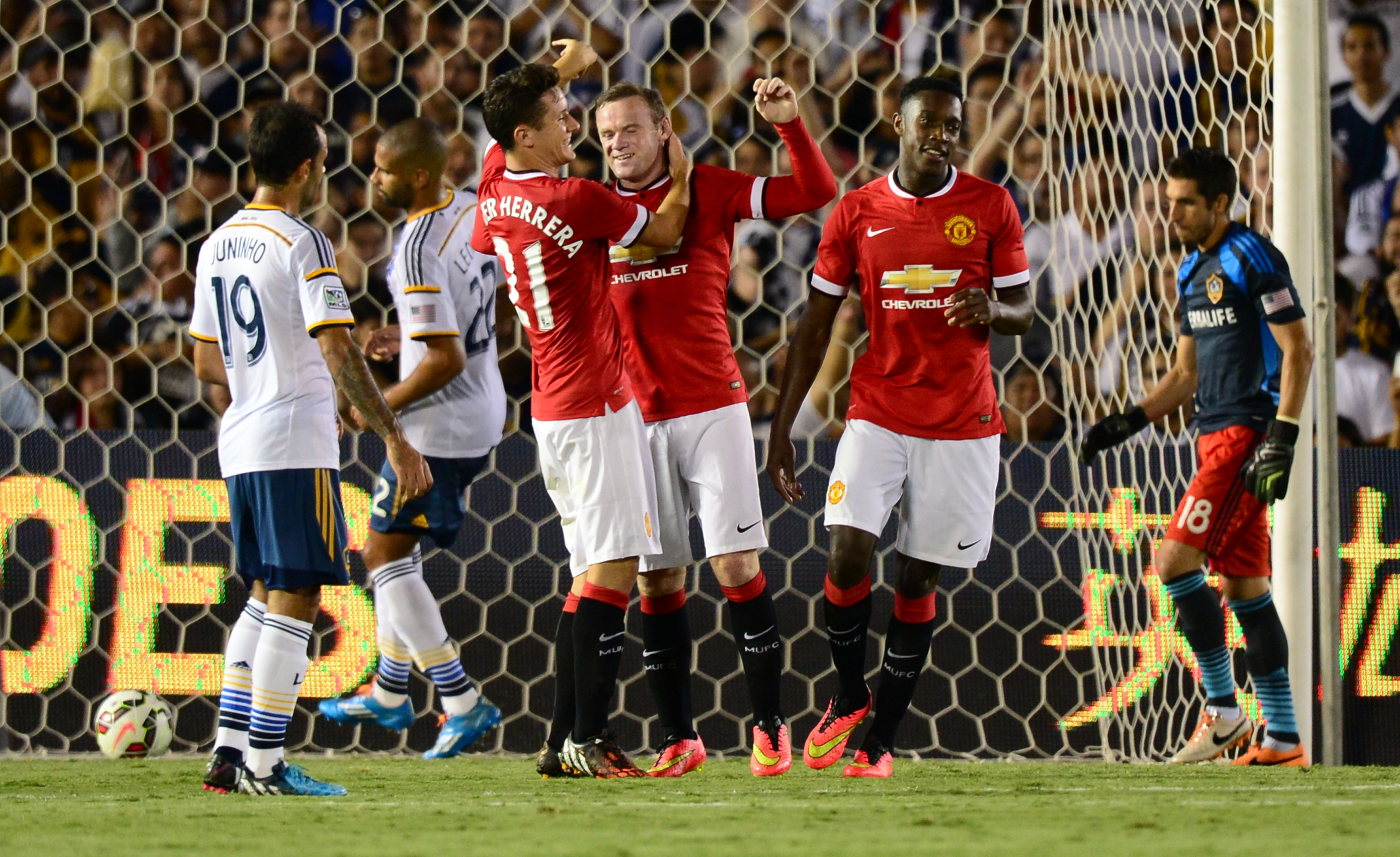 Five things we learned from Van Gaal's first game in charge of Man Utd