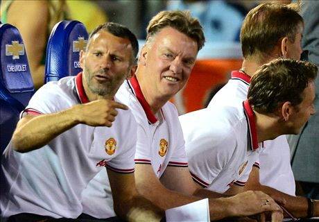 What we learned from Van Gaal's first game
