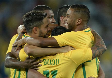 Caio impresses for Brazil
