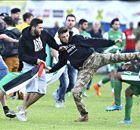 Agredieron a jugadores de Maccabi Haifa