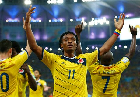 Fiorentina want £40m for Cuadrado