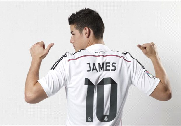 James an 'amazing' signing for Real Madrid - Pepe