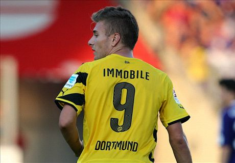 Immobile strikes for five-star Dortmund