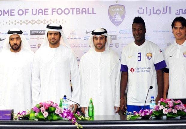 Asamoah Gyan extends Al Ain contract
