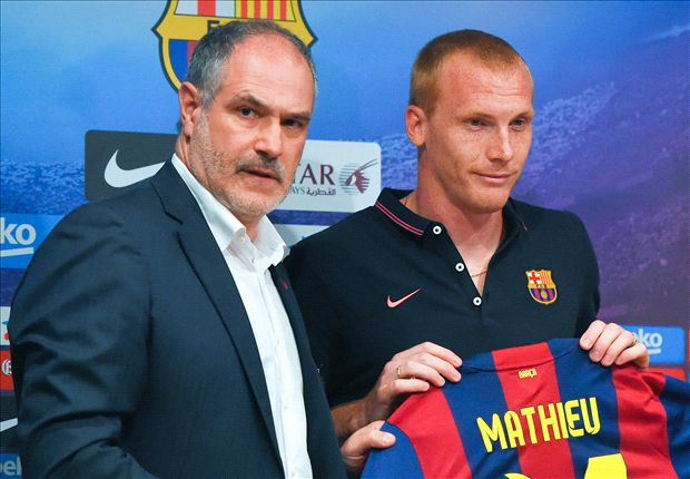 'I smoke when I want' - Mathieu risks Barcelona ire