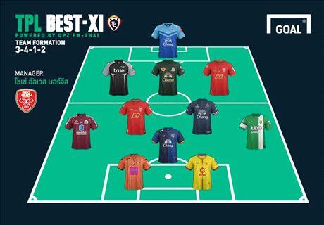 TPL Best XI 2014 : ประจำสัปดาห์ที่ 25