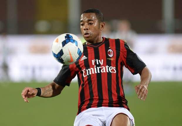 Robinho no seguirá en Milan