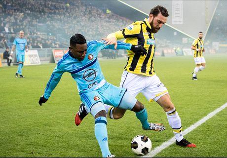 Vitesse troeft Feyenoord volledig af