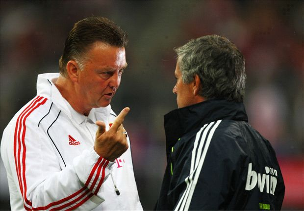 No mind games with Mourinho, says Van Gaal