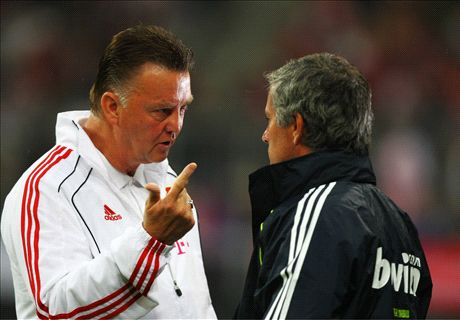 Van Gaal: No mind games with Mou