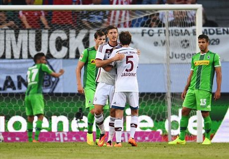 Report: Bayern 2-2 Gladbach (5-4 pens)