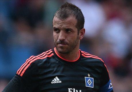 Van der Vaart wil nog niet terug naar Ajax