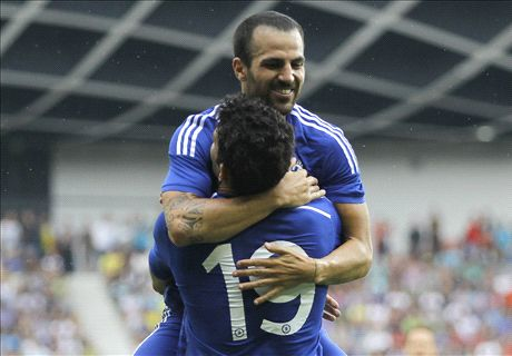 Fabregas on target as Chelsea win