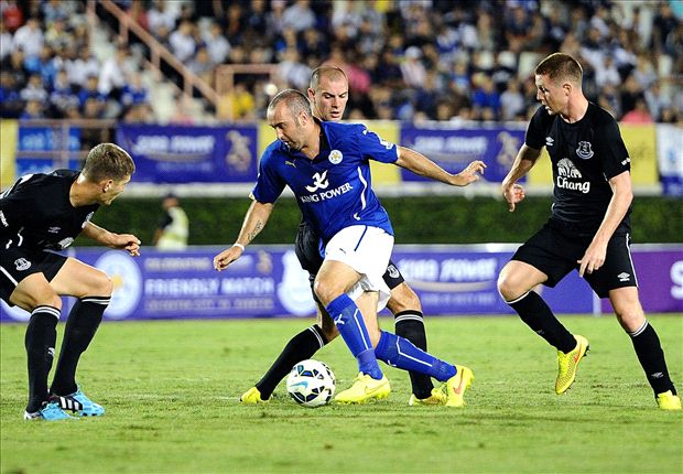 Leicester 1-0 Everton: Taylor-Fletcher goal gives Pearson's men victory