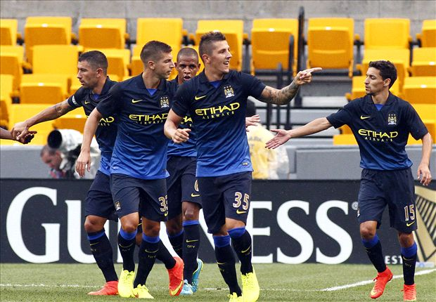AC Milan 1-5 Manchester City: Jovetic shines as Pellegrini's men cruise