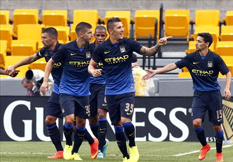Milan-Manch City 1-5: Doppietta Jovetic
