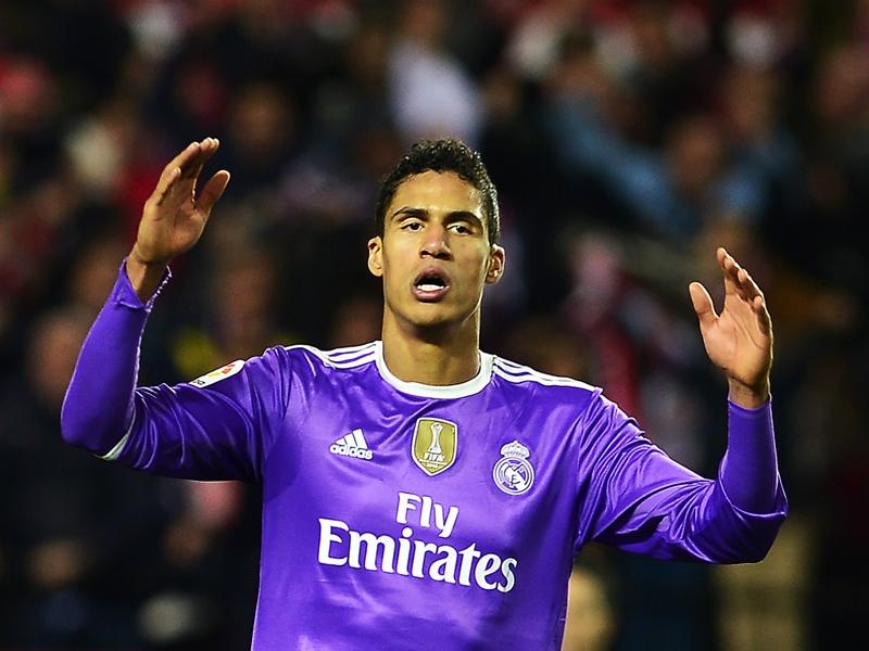 Le Real Madrid communique au sujet de Varane