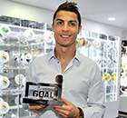 Football is in my blood - Ronaldo
