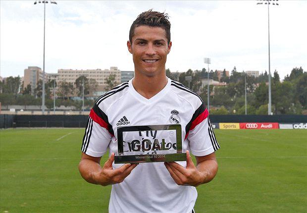 Cristiano Ronaldo wins Goal 50