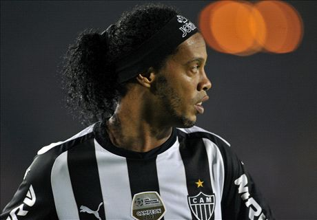 Ronaldinho: Retirement isn't a possibility