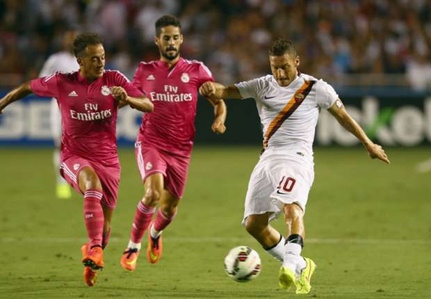 Real Madrid 0-1 AS Roma