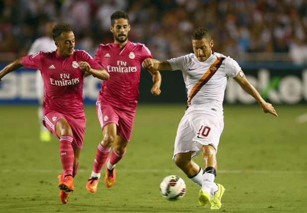 Kecerdikan Fransesco Totti Buat AS Roma Kalahkan Real Madrid
