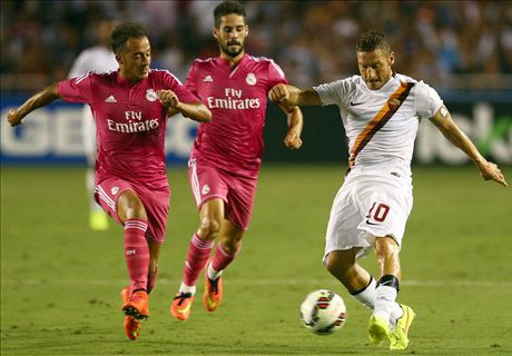 Totti Cerdik, AS Roma Tekuk Real Madrid