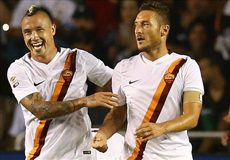 Totti strike sinks Real Madrid