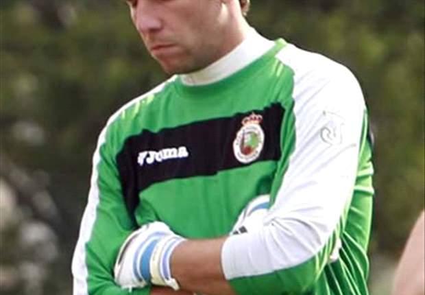 El Celta de Vigo quiere a Toño, ex guardameta del Racing de Santander