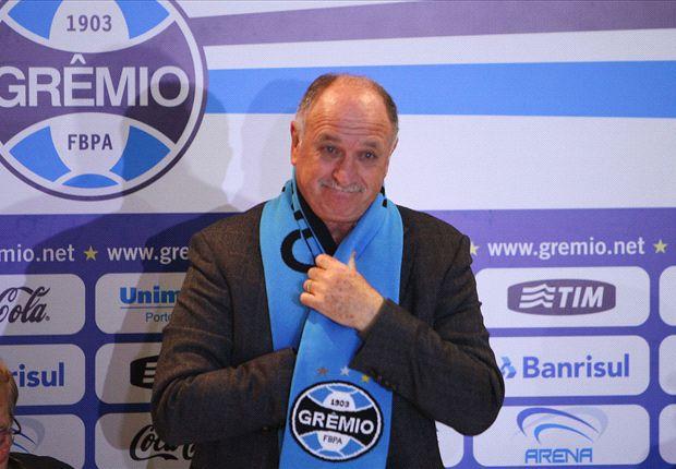 'I need a hug' - Scolari relieved to return to Gremio