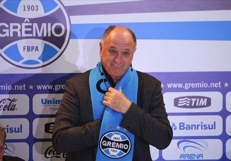 'I need a hug' - Scolari returns to Gremio