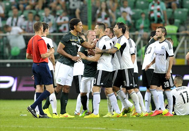 Berg slams UEFA in expulsion row as Legia plans appeal