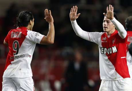 Real Madrid, James Rodriguez attend Falcao