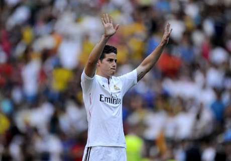 Real, James n'a pas peur de la concurrence