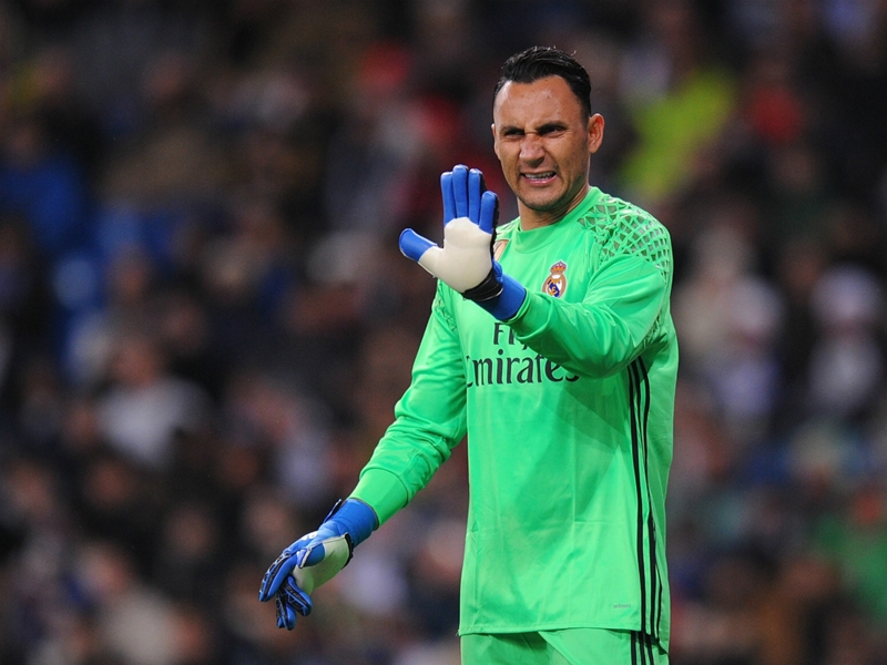 'When the bullets are firing you must show your chest' - Navas responds to Madrid jeers