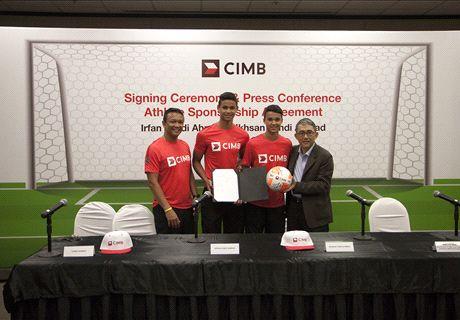 CIMB sponsors Irfan Fandi & Ikhsan Fandi