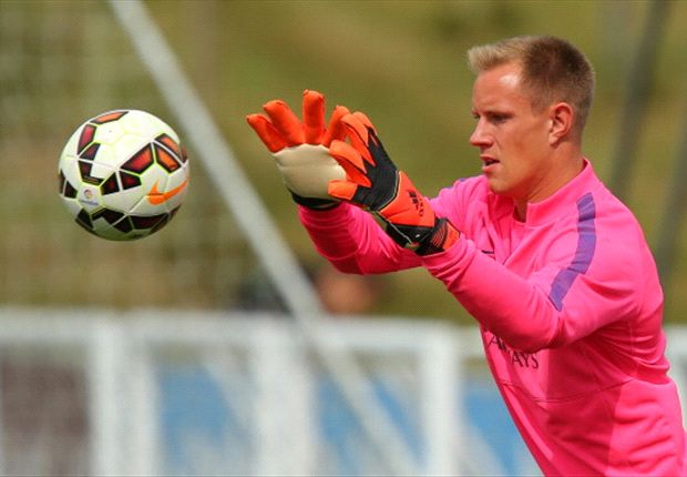 Ter Stegen vuelve a ejercitarse con el Barça